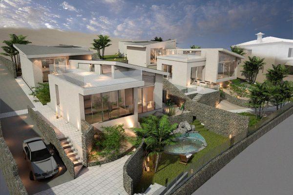 Granadilla Montaña Gorda 2 exclusive new villa projects